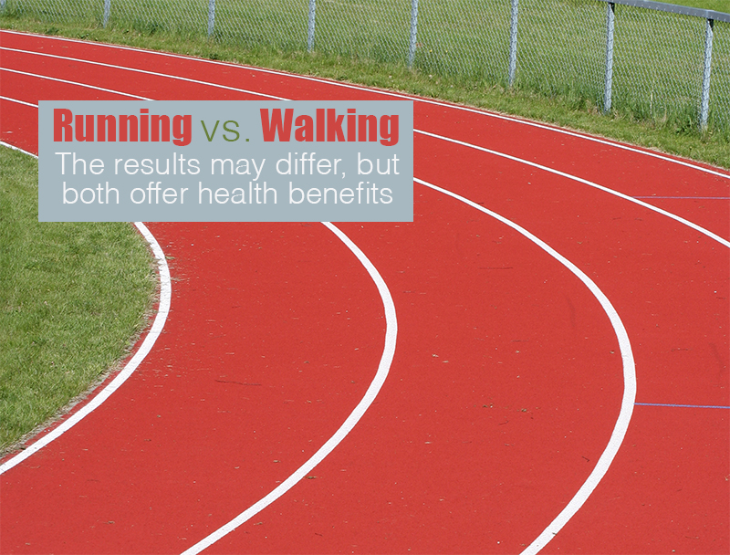 running v walking